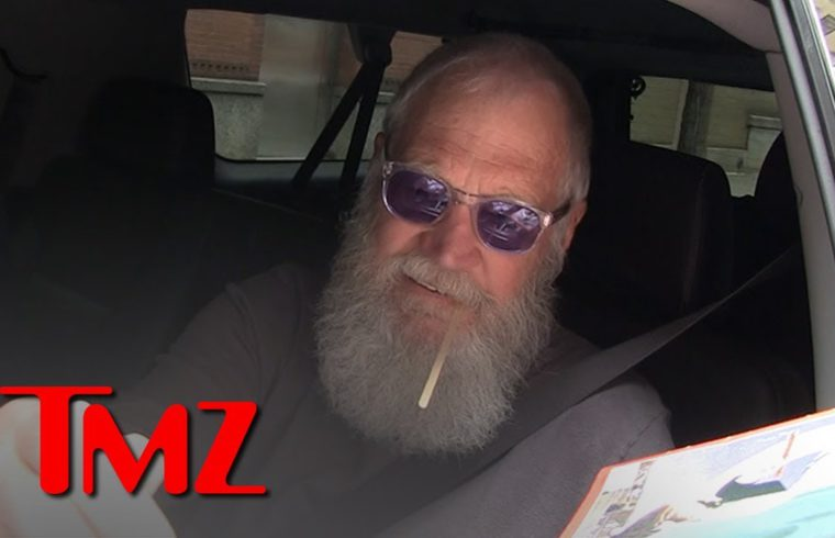 David Letterman Agrees with Alex Trebek, Positive Energy Helps with Health   TMZ 1