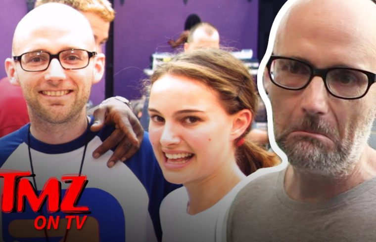 Moby Gives An Awkward Apology For Saying He Dating Natalie Portman | TMZ TV 1