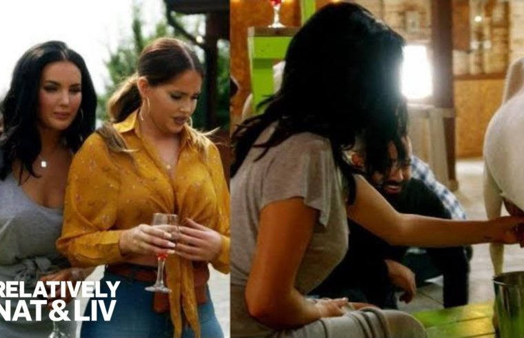 Olivia Pierson's Goat Milking Experience Goes Sour! | Relatively Nat & Liv | E! 1