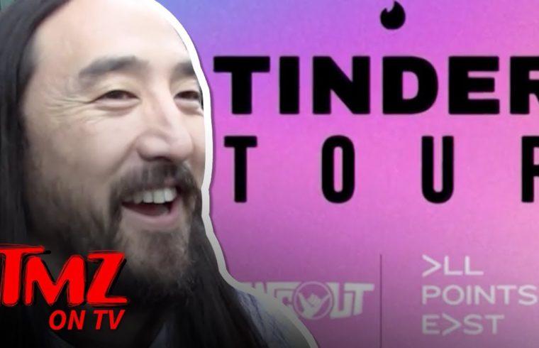 "Steve Aoki Says Tinder's New ""Festival Mode"" Is Wack | TMZ 1"