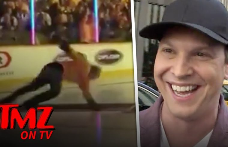 Gavin DeGraw Talks About His Nasty Fall On The Ice | TMZ TV 1