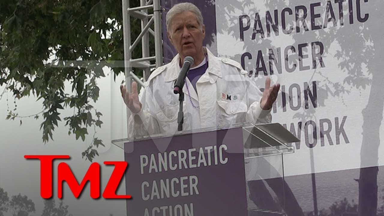 Alex Trebek Says Pancreatic Cancer Survivors Like 'Jeopardy' James Holzhauer | TMZ 3