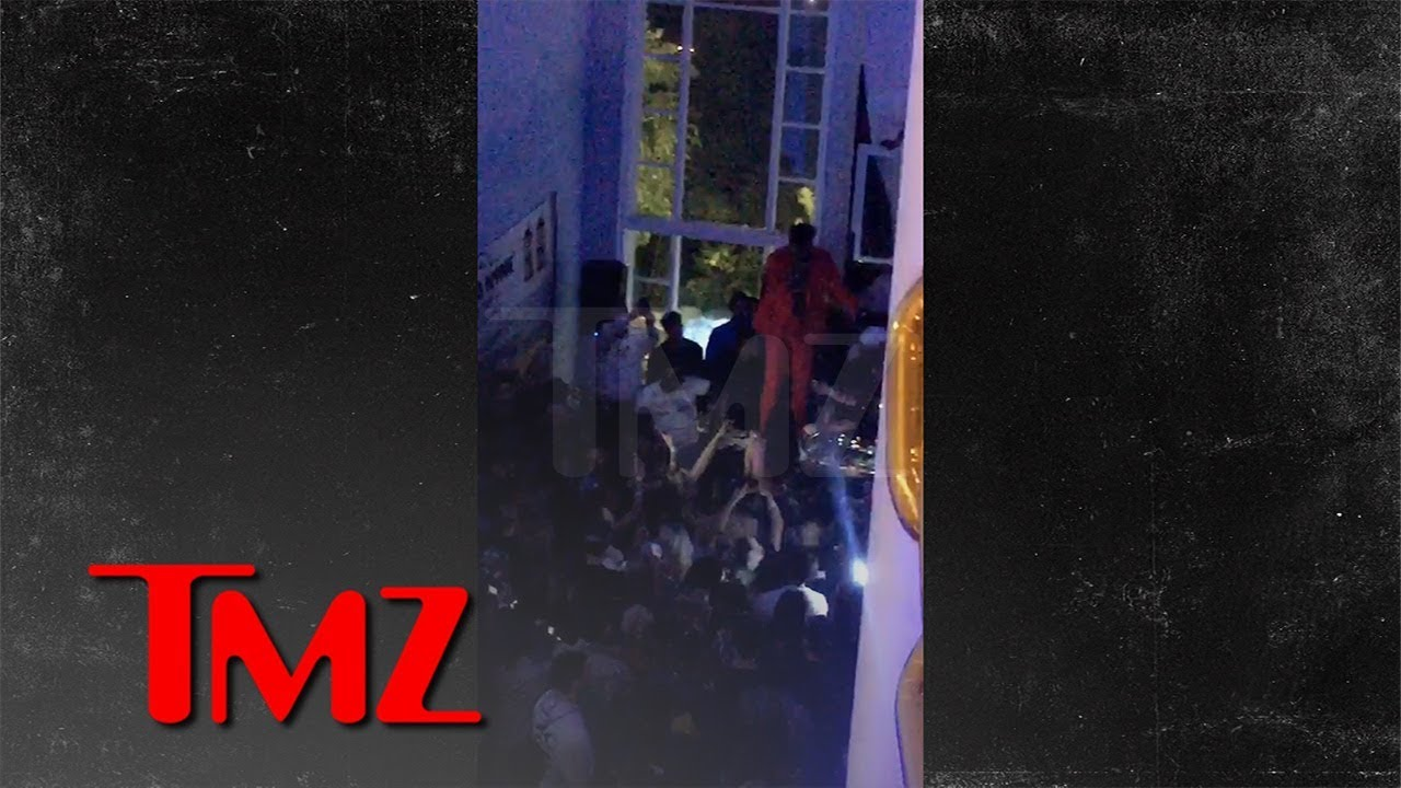 Desiigner Has Awesome Birthday Party with Chris Brown, Lamar Odom   TMZ 5