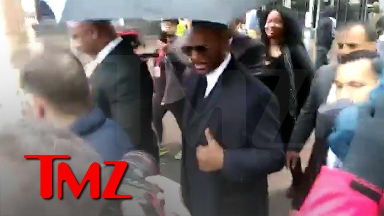 R. Kelly In Court Challenging Sex Tape, Avenatti and Kim Foxx   TMZ 4