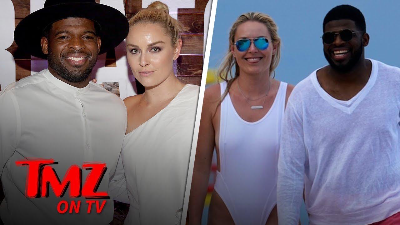 Lindsey Vonn Hits Beach with Boyfriend P.K. Subban in Amazing Bathing Suit   TMZ TV 4