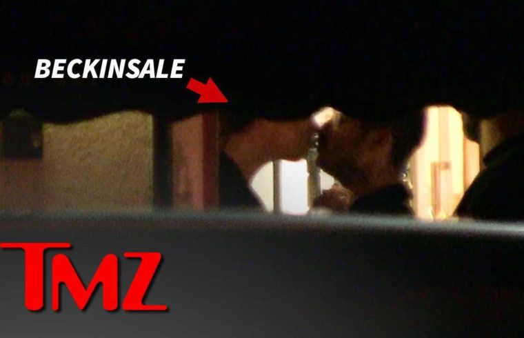 Kate Beckinsale Kisses Date as They Leave L.A. Restaurant | TMZ 1