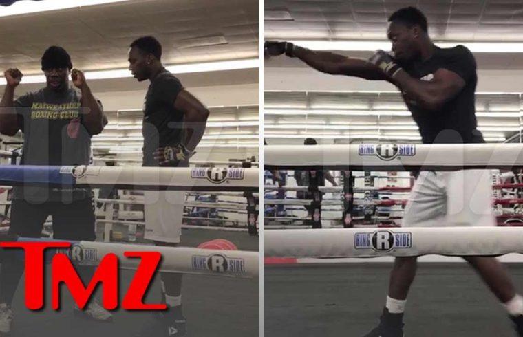 Jussie Smollett 'Attacker' Abel Working with Floyd Mayweather Jr.'s Trainer | TMZ 1