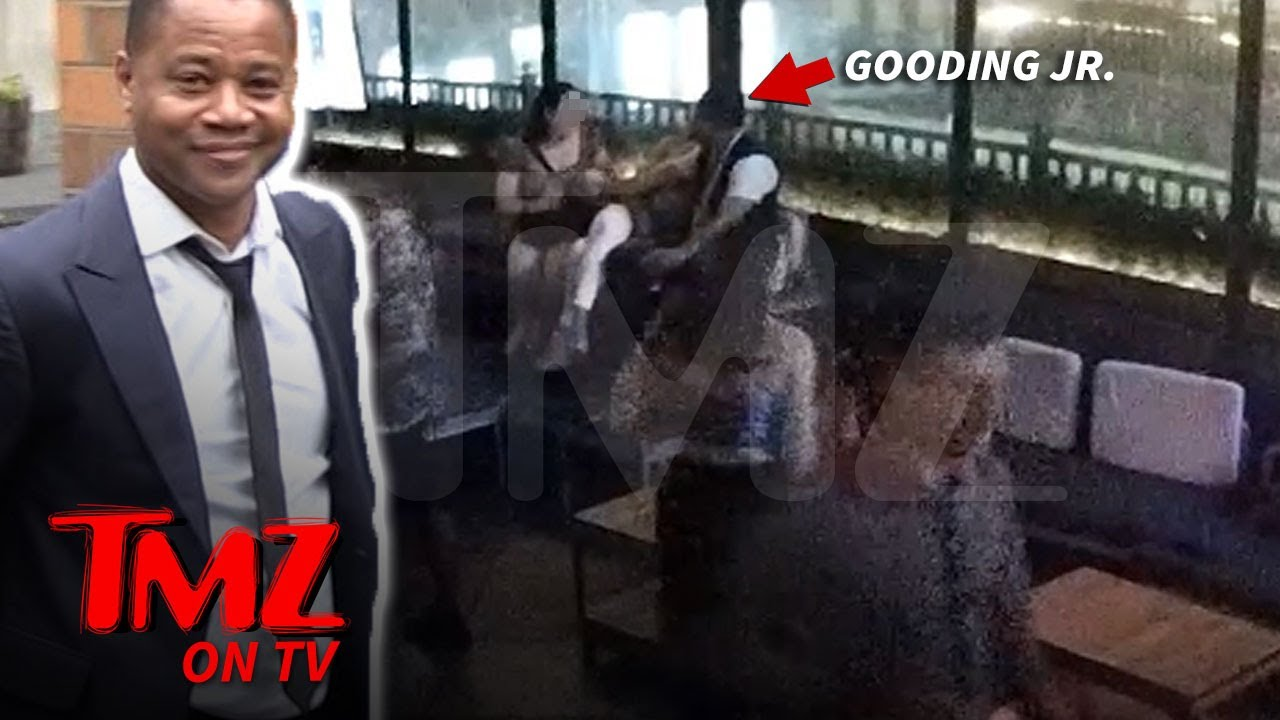 Cuba Gooding Jr  Puts Hand on Accuser In Surveillance Video | TMZ TV 1