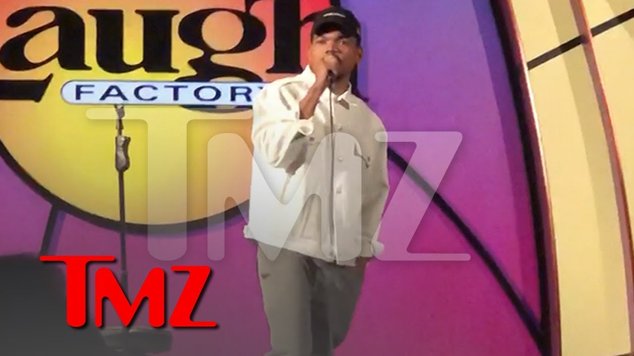 Chance the Rapper Tries His Hand at Stand-Up Comedy at Laugh Factory | TMZ 1