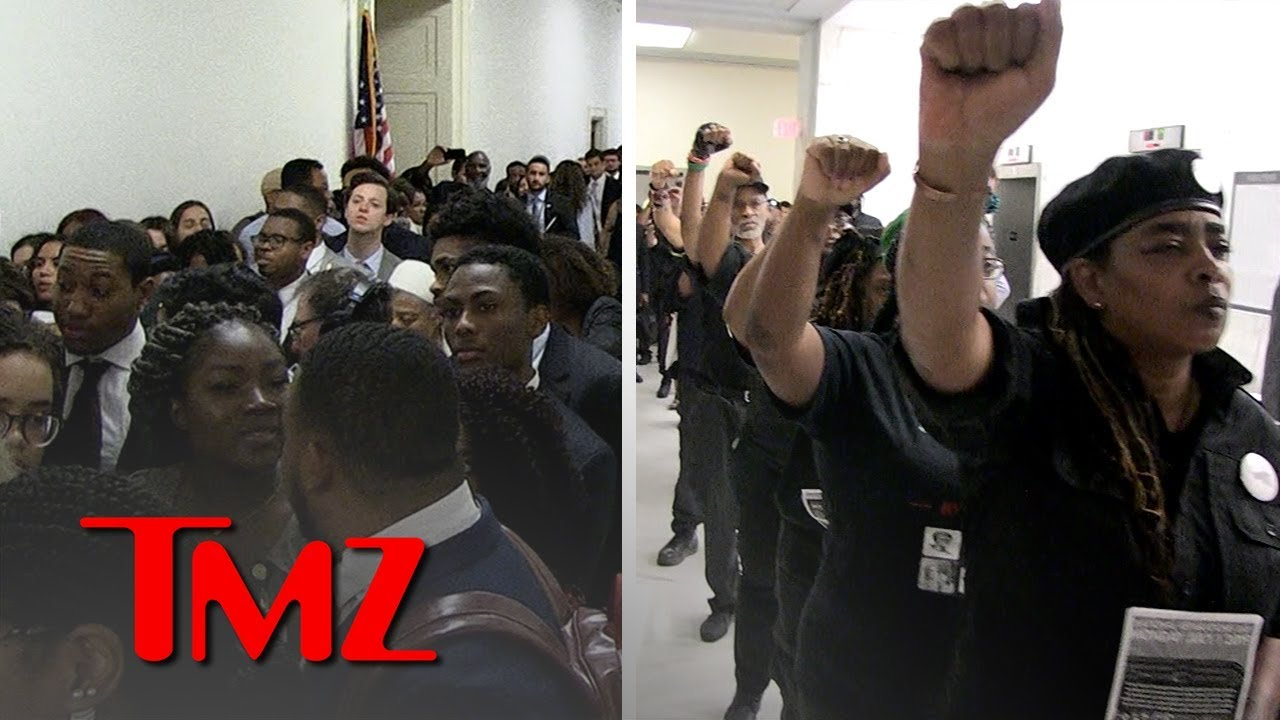 Slavery Reparations Hearing Prompts Massive Crowd on Capitol Hill | TMZ 1