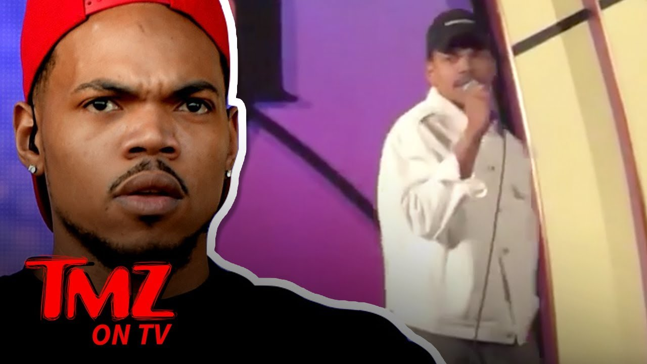 Chance the Rapper Takes a Chance at Stand Up | TMZ TV 1
