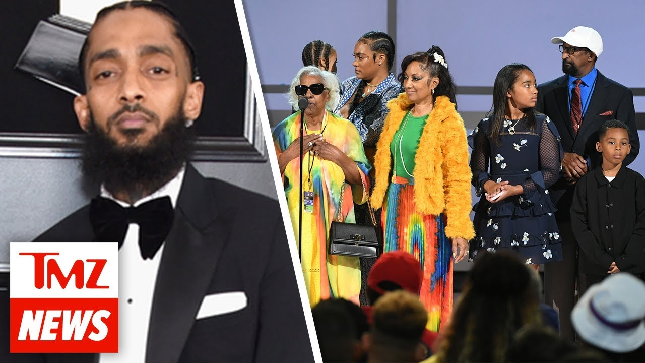 Nipsey Hussle Honored with Live Tribute at 2019 BET Awards | TMZ NEWSROOM TODAY 1