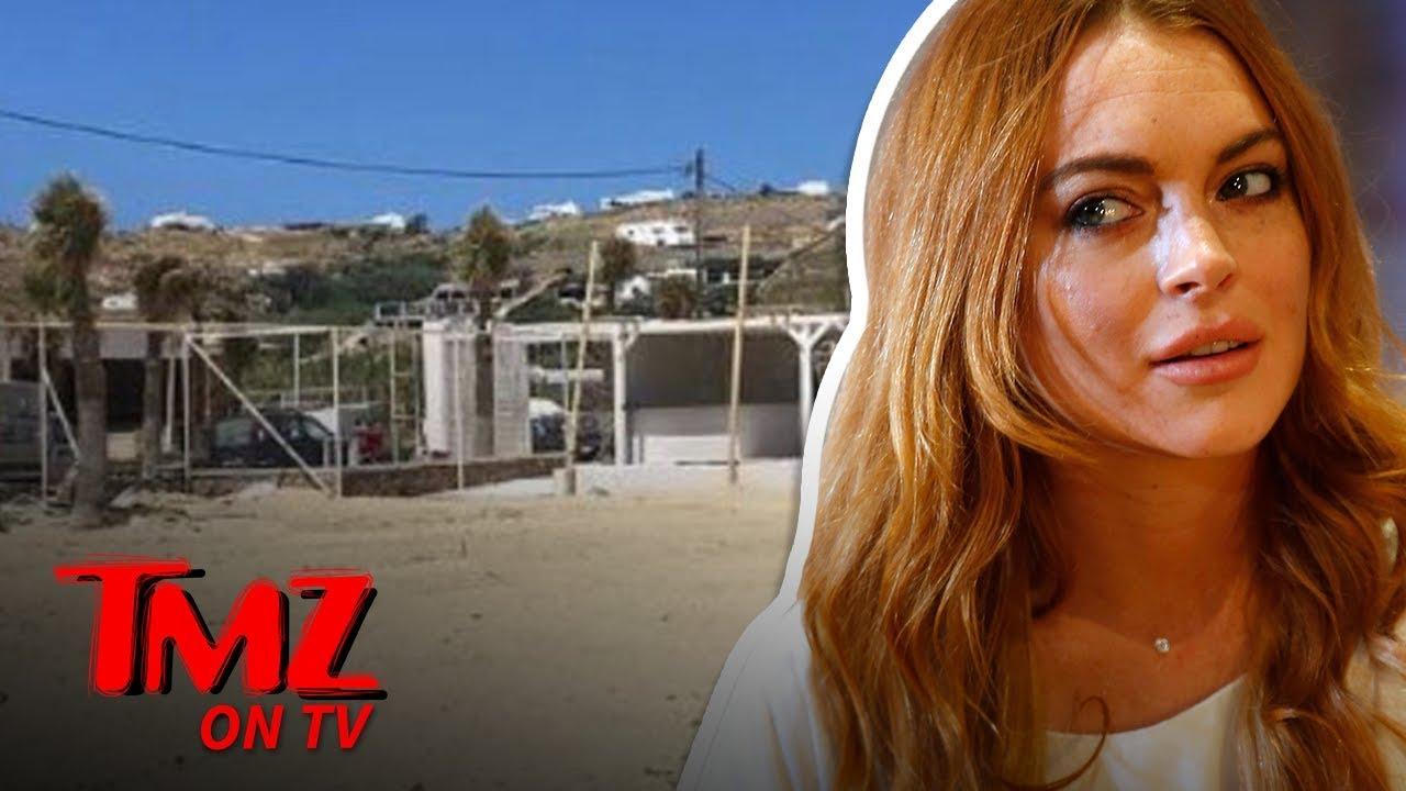 Lindsay Lohan's Beach Club Disappeared | TMZ TV 1