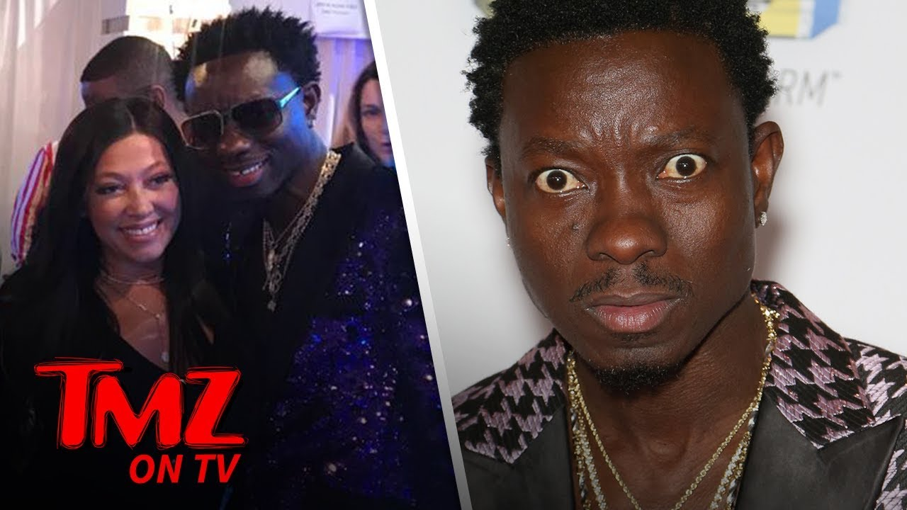 Michael Blackson Has a Crush On Jordyn Wood's Mom | TMZ TV 1