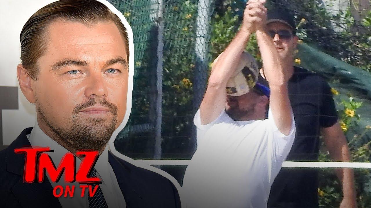 Leonardo DiCaprio Get's a Ball To The Face   TMZ TV 1