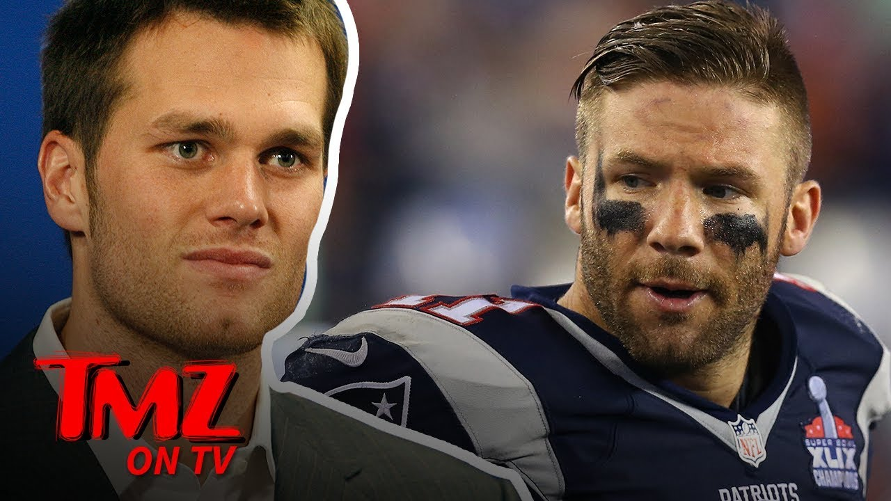 Julian Edelman Thinks Tom Brady's Avocado Ice Cream Is Gross | TMZ TV 1