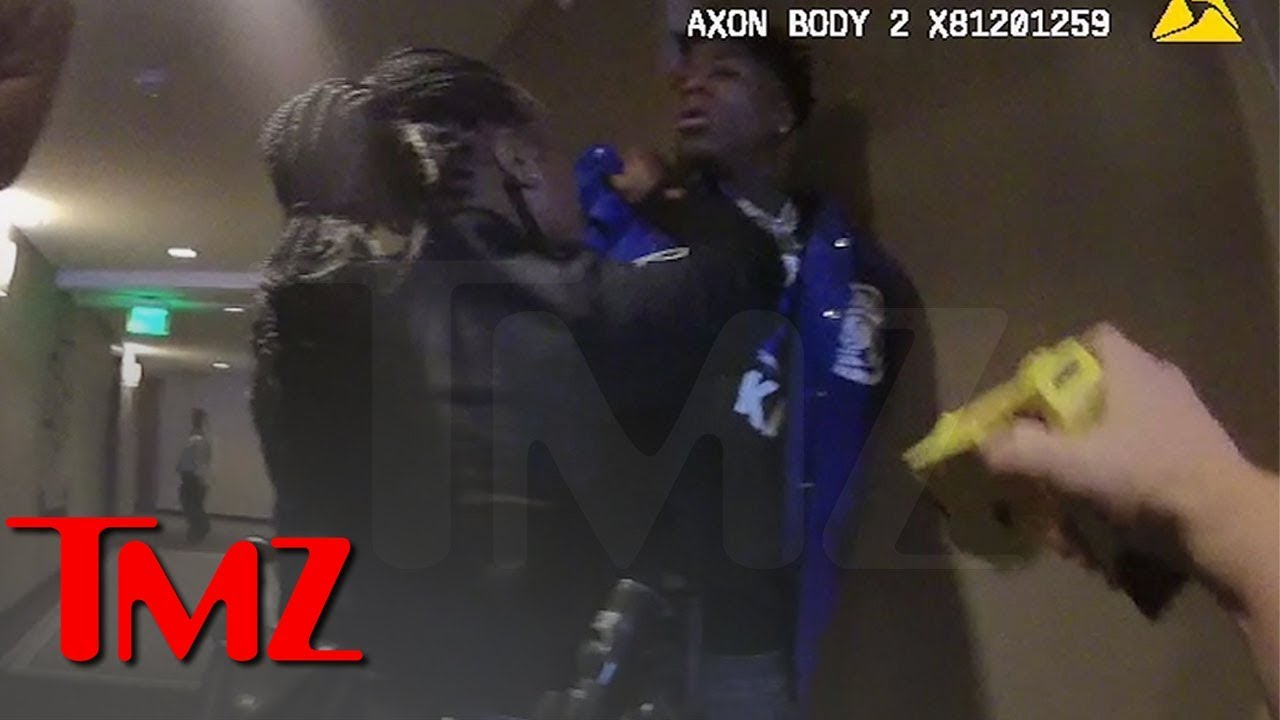 NBA YoungBoy Gets Taser Pulled on Him During Hotel Arrest | TMZ 6