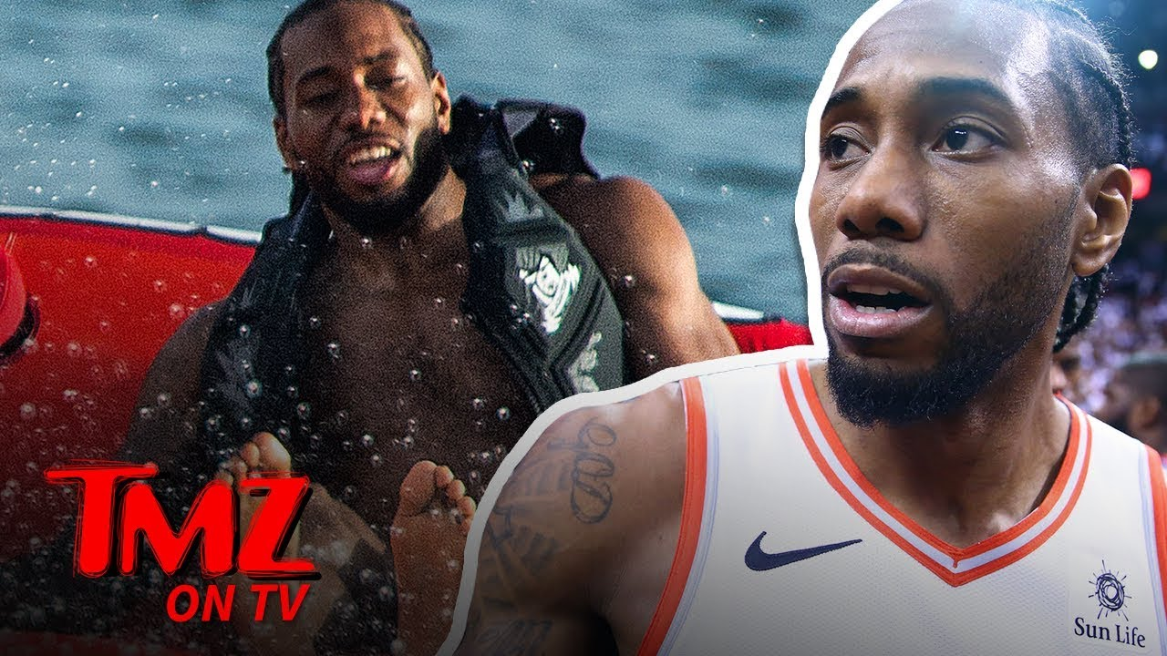 Kawhi Leonard Having a Fun Time In Barbados | TMZ TV 1