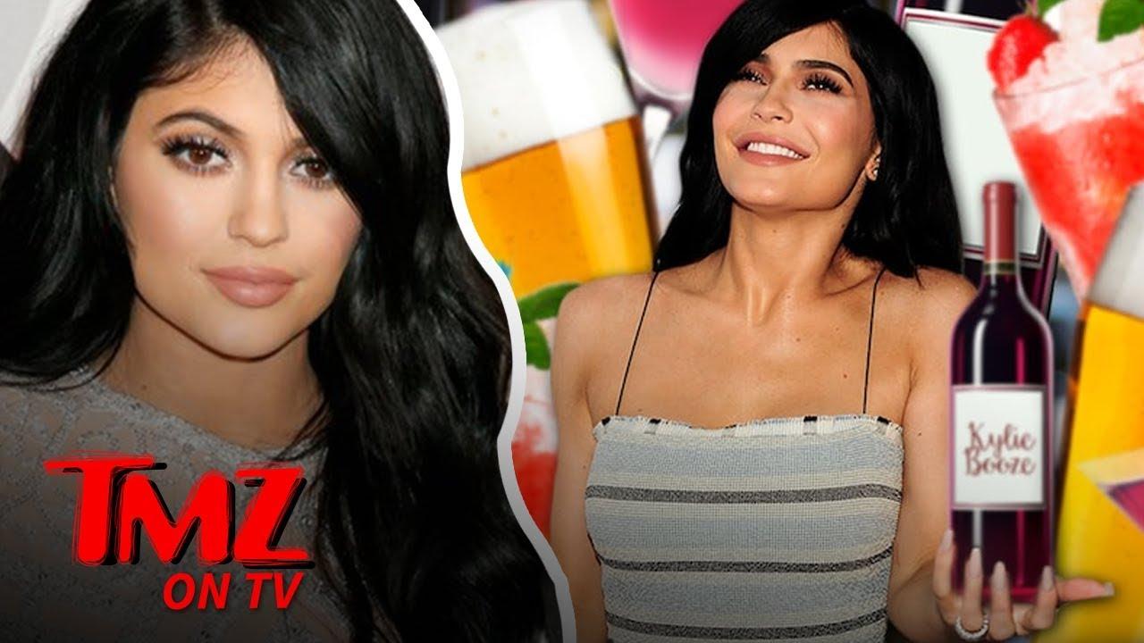 Kylie Jenner Trademarks 'Kylie Booze' | TMZ TV 1