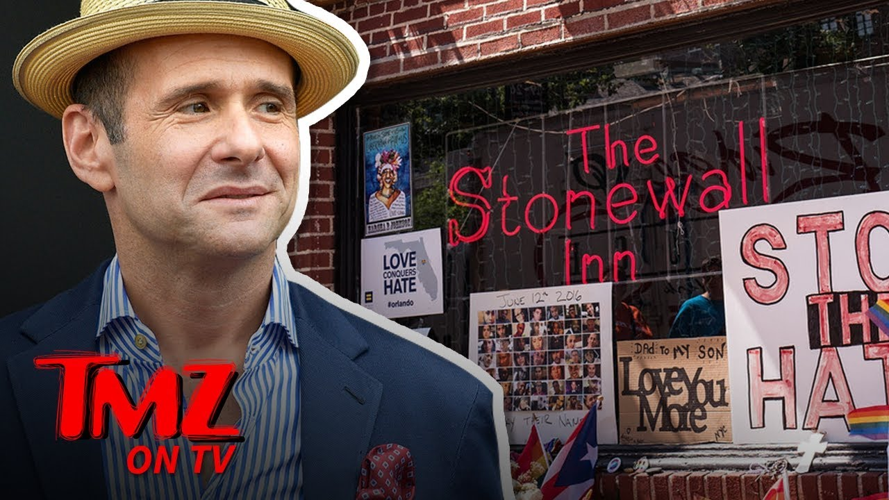 Max Mutchnick Has a Special Connection To The Stonewall Inn | TMZ TV 1