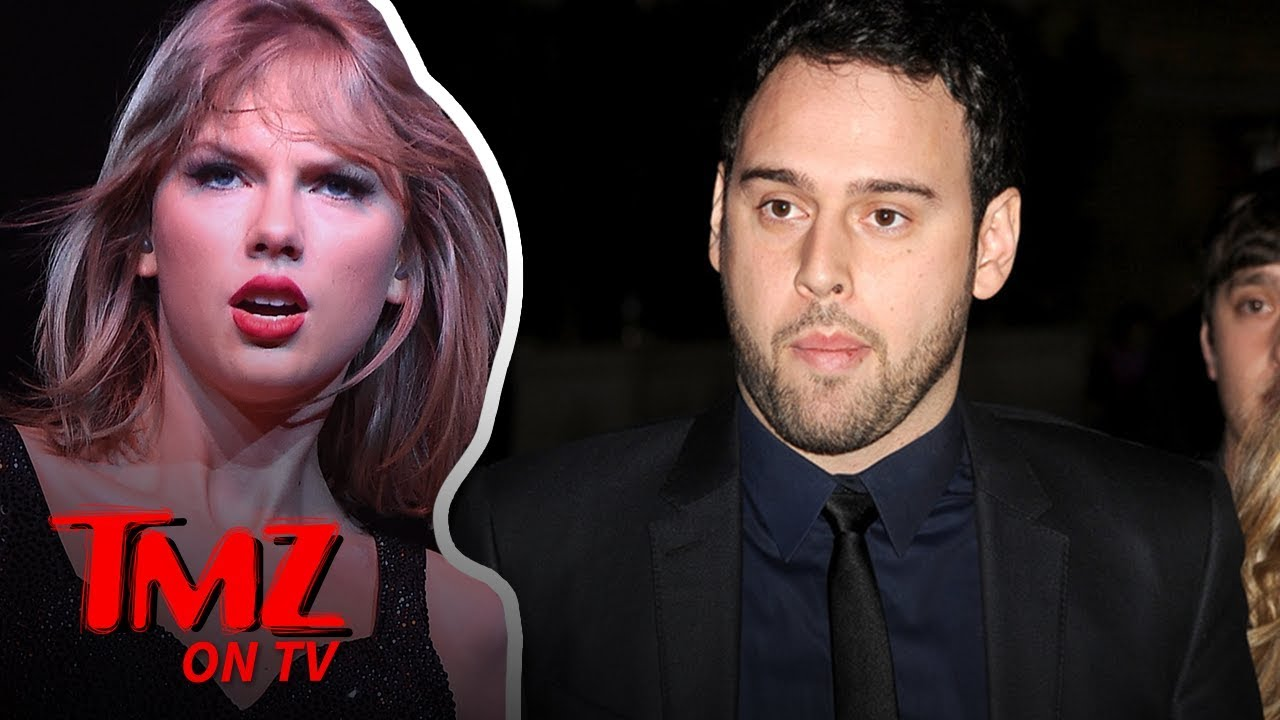 Taylor Swift & Scooter Braun Have Bad Blood | TMZ TV 1