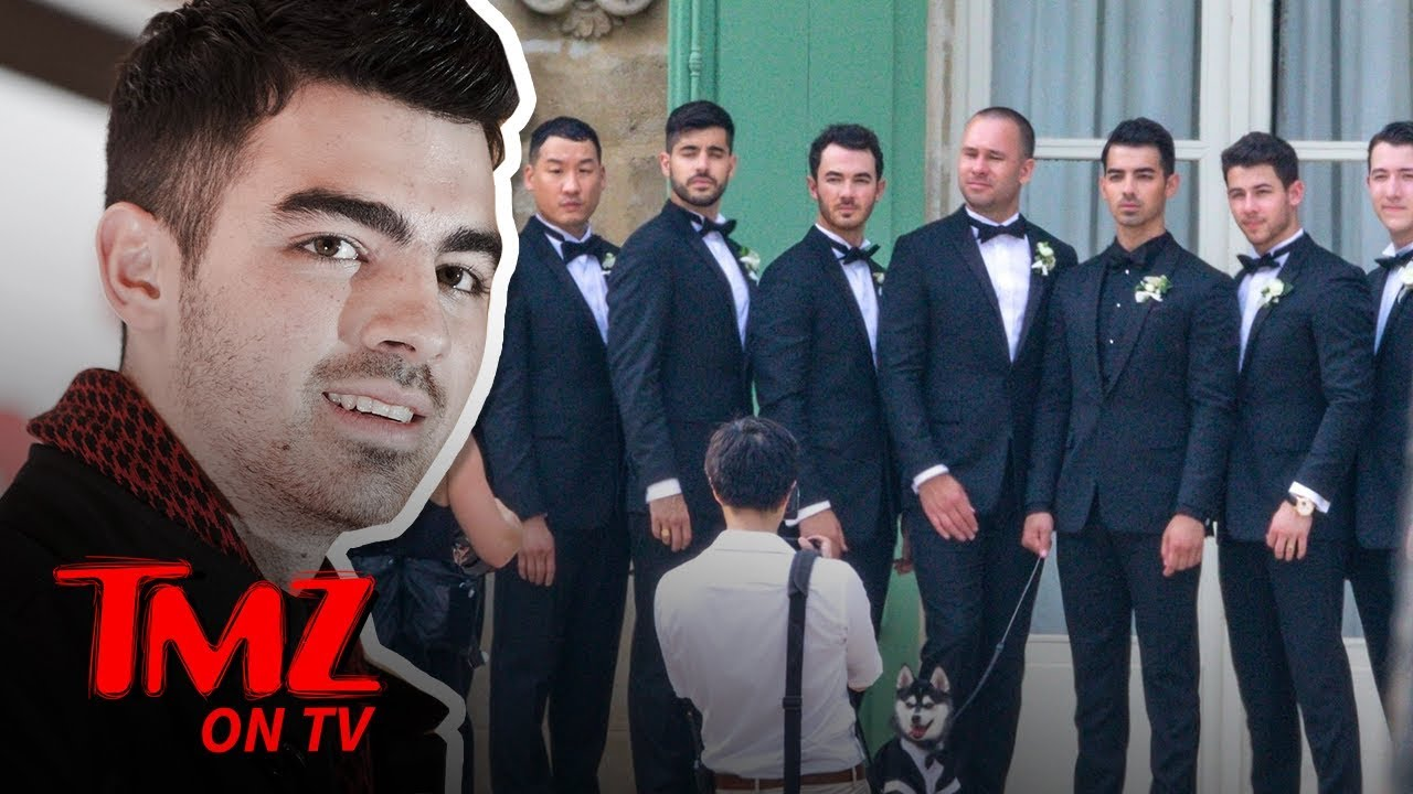Sophie Turner & Joe Jonas Star Studded Wedding | TMZ TV 1