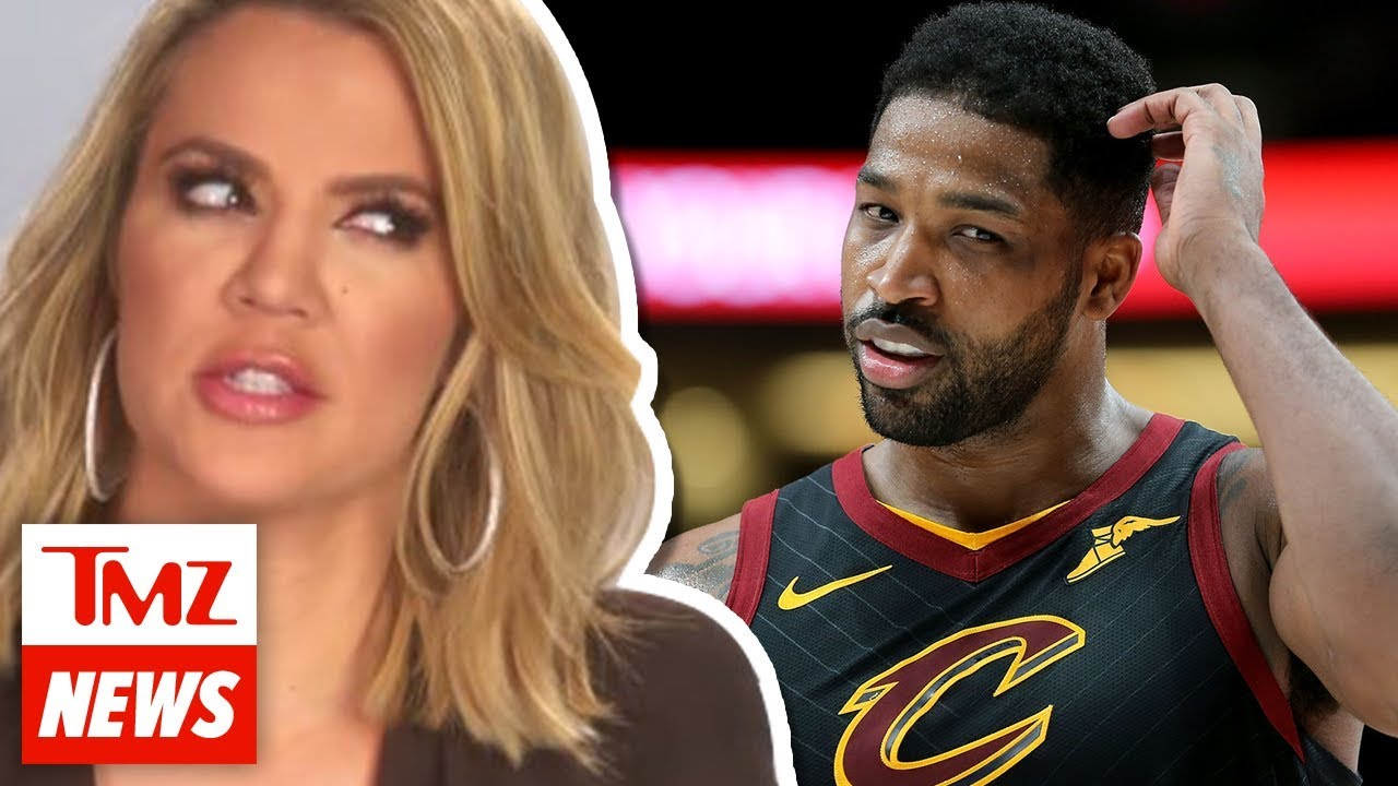 Khloe Kardashian Denies Claims She Cheated with Tristan Thompson | TMZ NEWSROOM TODAY 1