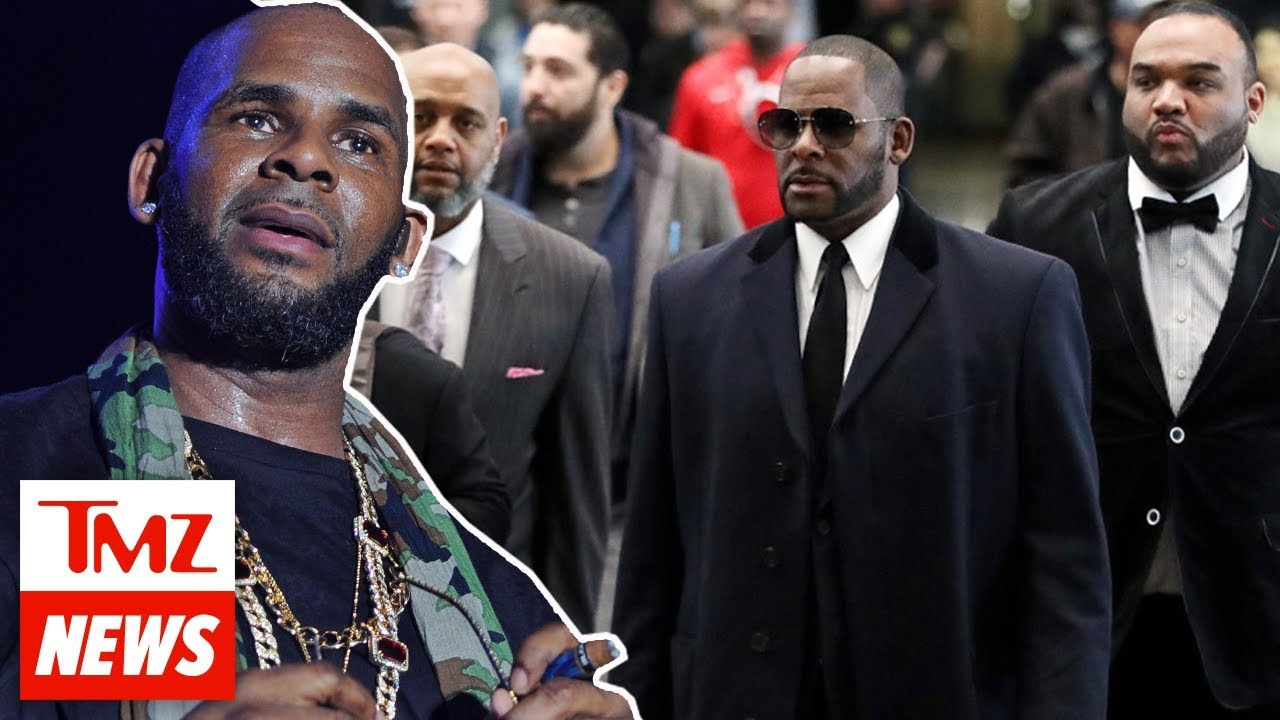 R. Kelly Arrested for Federal Sex Crimes and Racketeering in 2 States   TMZ NEWSROOM 1